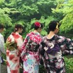 京都レンタルきもの古都!本日おかげさまで一周年!2016年6月19日7
