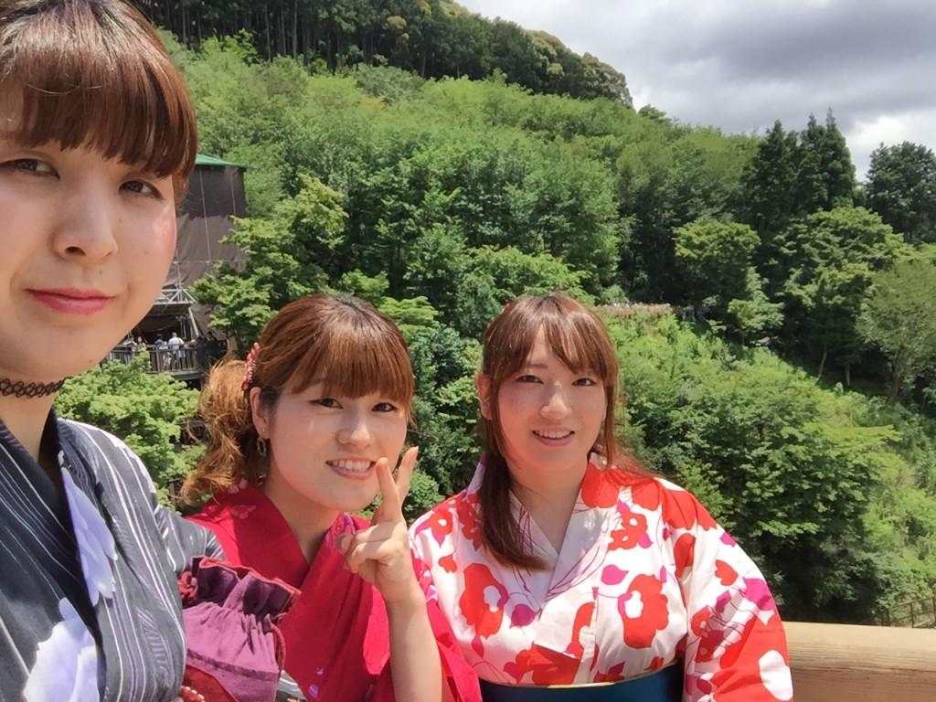 快晴!浴衣レンタルで京都散策2016年6月23日4