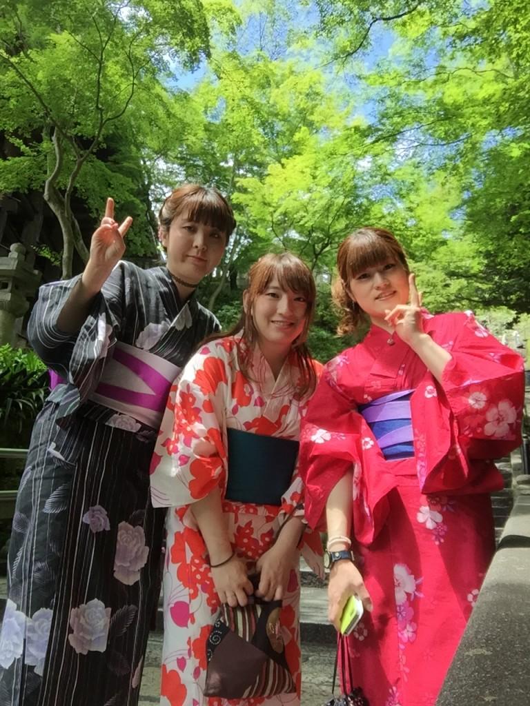 快晴!浴衣レンタルで京都散策2016年6月23日5