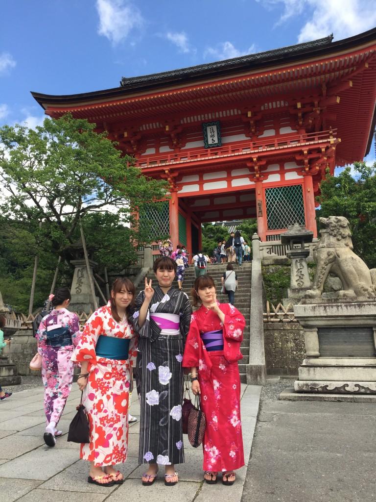 快晴!浴衣レンタルで京都散策2016年6月23日6