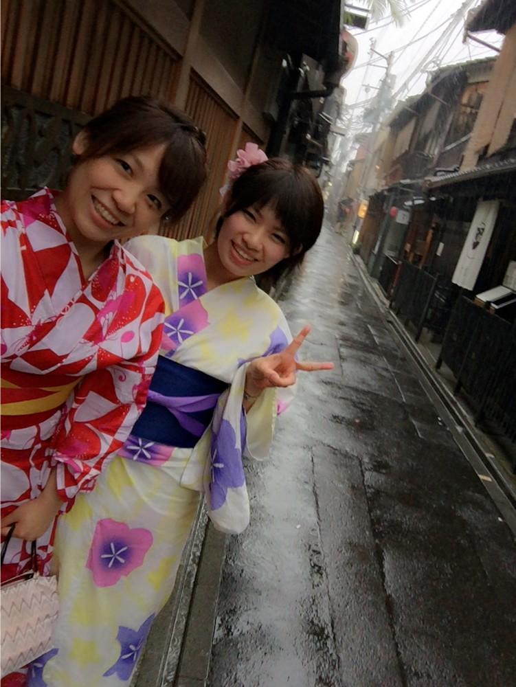 梅雨の京都を着物・浴衣レンタルで散策!2016年6月29日7