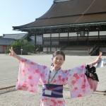 浴衣で「京都 食とアートのマーケット in 東本願寺」2016年8月20日23