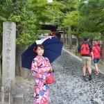 雨の風情のる京都!銀閣寺、伏見稲荷など満喫♪2016年8月29日12