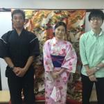 浴衣で「京都 食とアートのマーケット in 東本願寺」2016年8月20日1