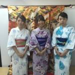 浴衣で「京都 食とアートのマーケット in 東本願寺」2016年8月20日6
