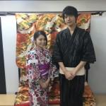 浴衣で「京都 食とアートのマーケット in 東本願寺」2016年8月20日9