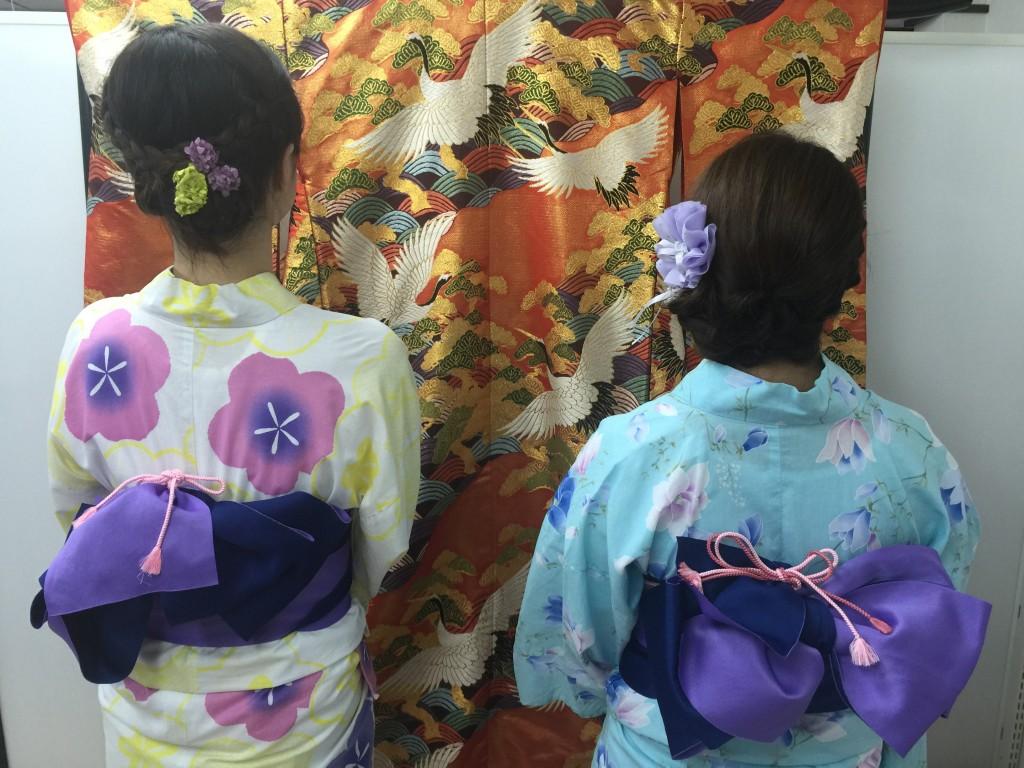 やはり今日も浴衣レンタルで「下鴨神社 糺ノ森の光の祭」2016年8月25日9