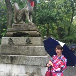 雨の風情のる京都!銀閣寺、伏見稲荷など満喫♪2016年8月29日11
