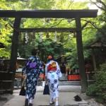 浴衣レンタルで「下鴨神社 糺の森の光の祭」へ!2016年8月17日21