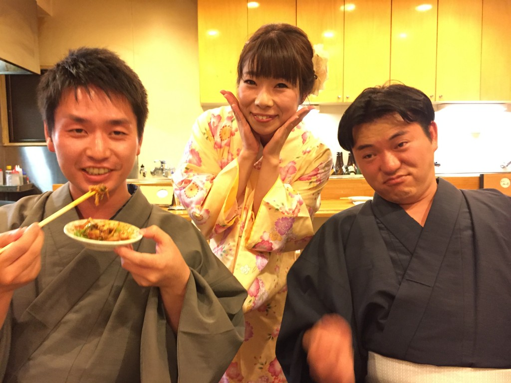 夜は先斗町でお食事♪2016年9月23日9