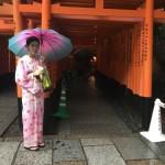 雨の京都も風情があります!2016年9月18日16