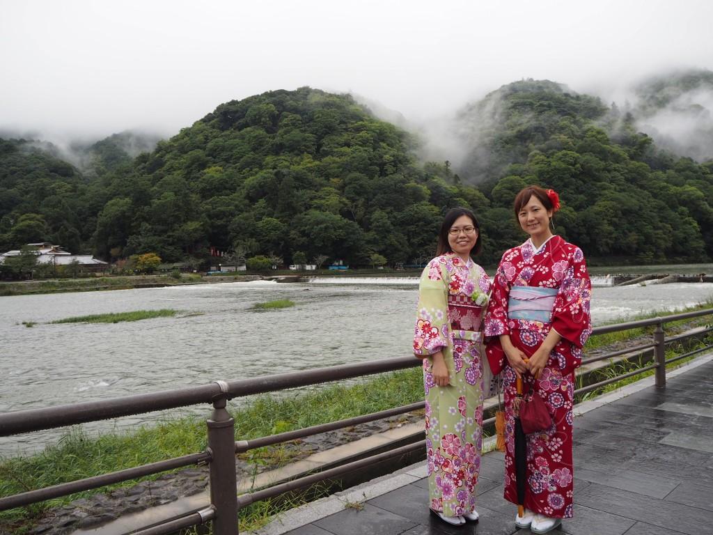 人気の嵐山・金閣寺へ!2016年9月27日11