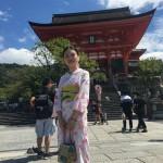 上海から京都で浴衣レンタル♪2016年9月3日4