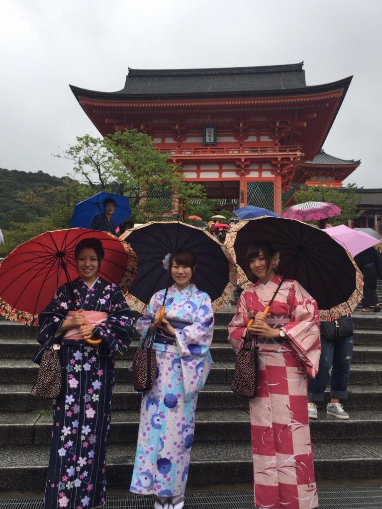 雨の京都も風情があります!2016年9月18日14