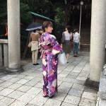 学生時代の同級生と今宮神社へ2016年10月1日9