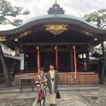 ニュージーランドから京都で着物レンタル♪2016年10月29日10