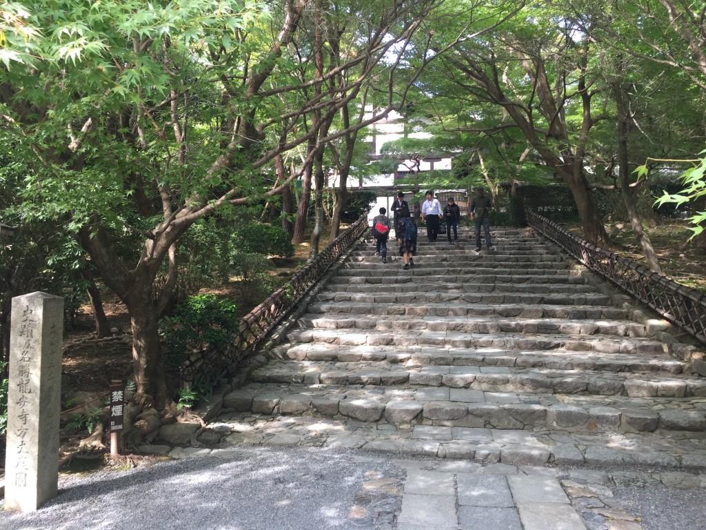 きぬかけの路「龍安寺」2