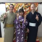 ニュージーランドから京都で着物レンタル♪2016年10月29日1