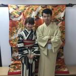 ニュージーランドから京都で着物レンタル♪2016年10月29日4