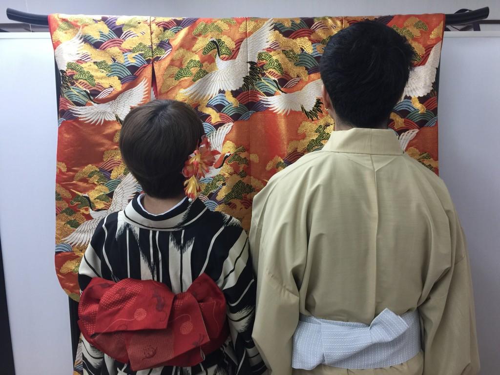 ニュージーランドから京都で着物レンタル♪2016年10月29日5