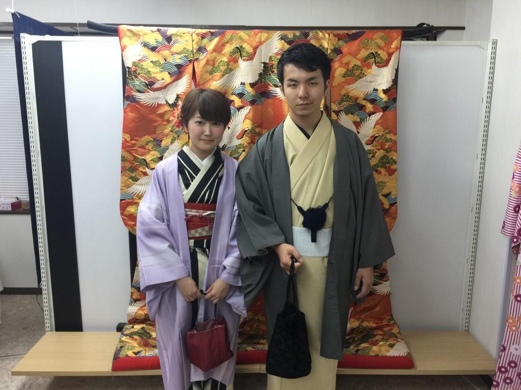 ニュージーランドから京都で着物レンタル♪2016年10月29日6