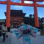 台湾から親子で伏見稲荷大社・清水寺へ!2016年10月17日4