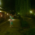 ベトナムから着物レンタルで祇園・先斗町を散策♪2016年11月17日7