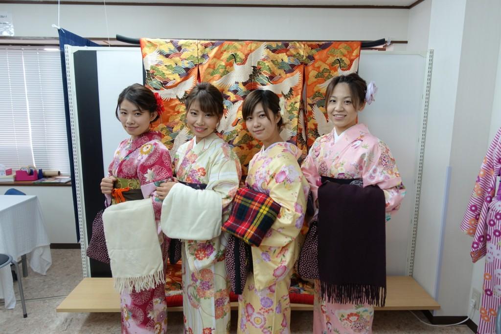 やはり大人気!着物レンタルで八坂庚申堂へ!2016年11月23日3
