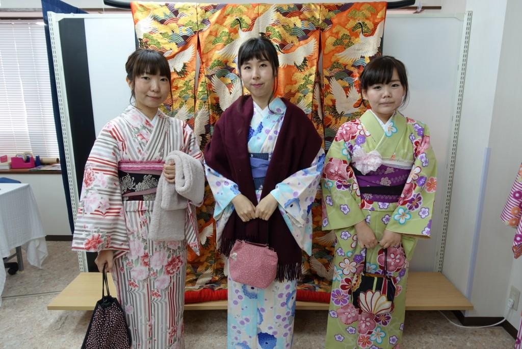 やはり大人気!着物レンタルで八坂庚申堂へ!2016年11月23日9