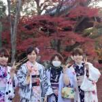 やはり大人気!着物レンタルで八坂庚申堂へ!2016年11月23日49