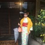 雨の京都を着物でお出掛け♪2016年11月27日4