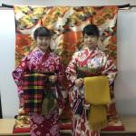 仲良し姉妹!着物レンタルで八坂庚申堂へ♪2016年11月5日3