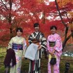 昼も夜も京都の紅葉真っ盛り!2016年11月19日23