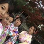 ベトナムから着物レンタルで祇園・先斗町を散策♪2016年11月17日11