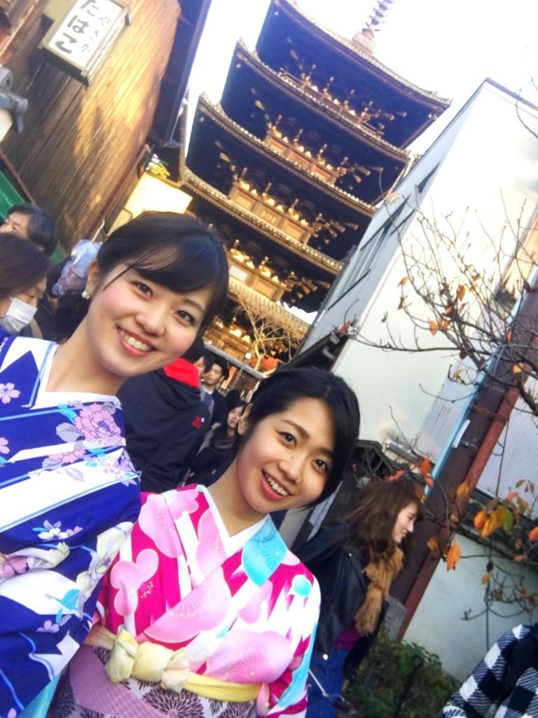 やはり大人気!着物レンタルで八坂庚申堂へ!2016年11月23日42