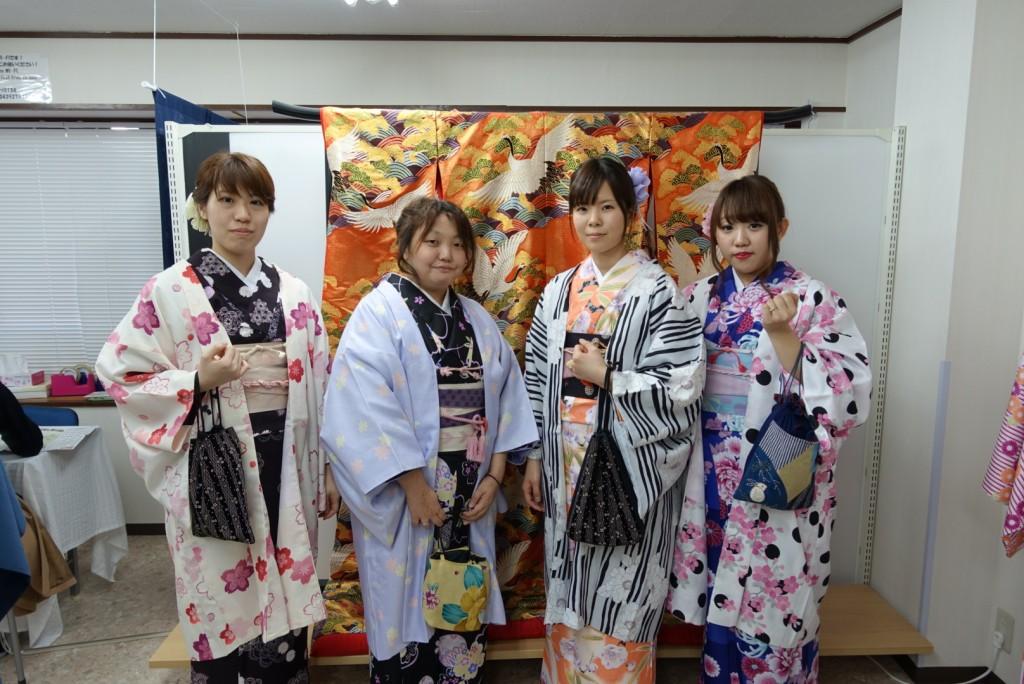 やはり大人気!着物レンタルで八坂庚申堂へ!2016年11月23日21