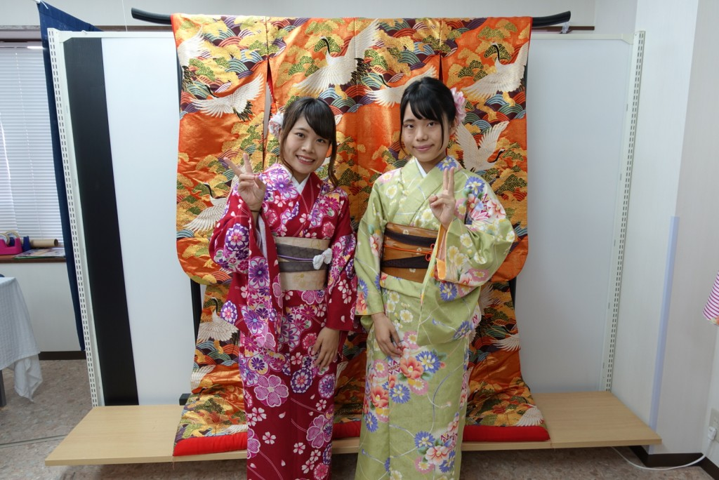 やはり大人気!着物レンタルで八坂庚申堂へ!2016年11月23日10