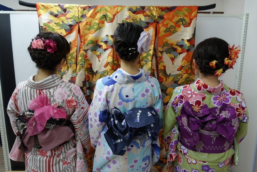 やはり大人気!着物レンタルで八坂庚申堂へ!2016年11月23日8