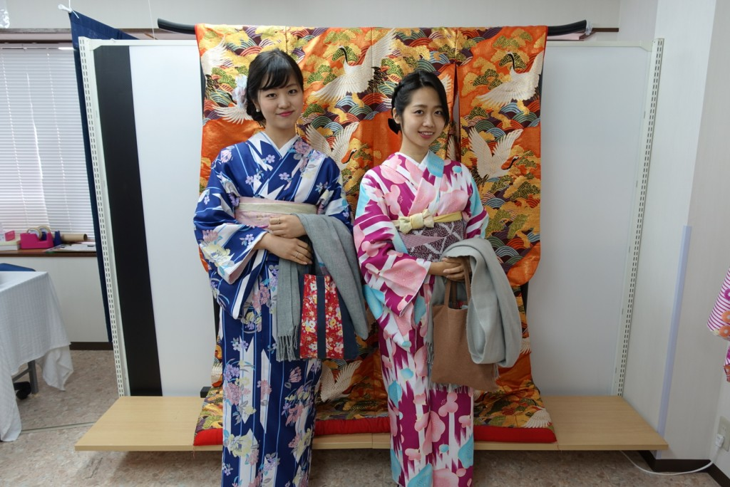 やはり大人気!着物レンタルで八坂庚申堂へ!2016年11月23日6