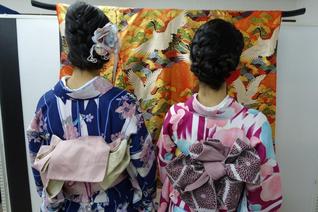 やはり大人気!着物レンタルで八坂庚申堂へ!2016年11月23日5