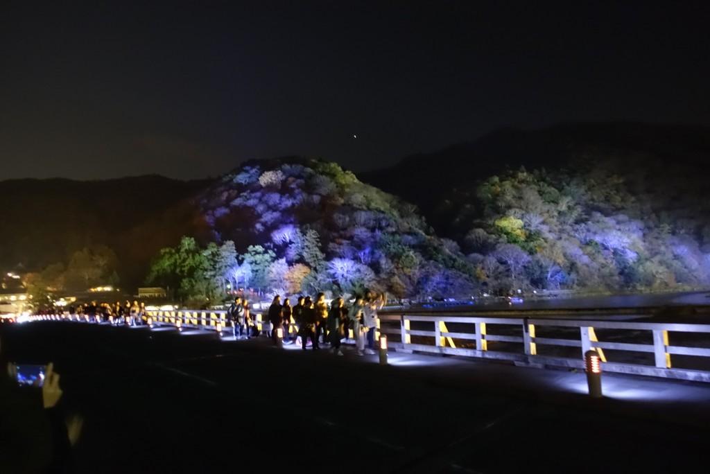 2016 嵐山 花灯路!大盛況!19