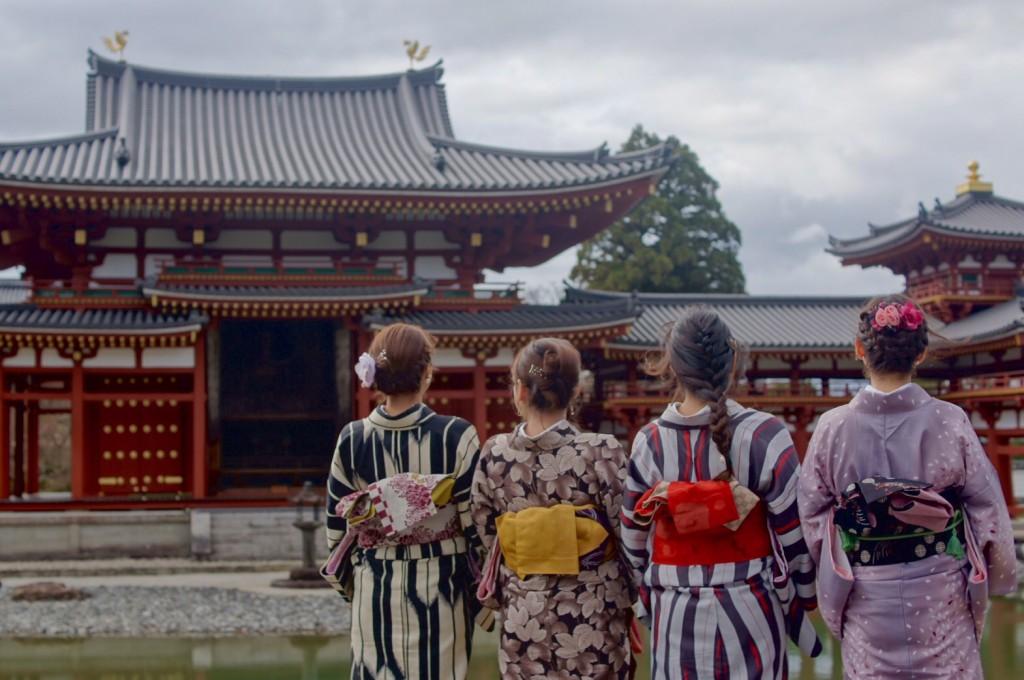 みんなで京都宇治 平等院鳳凰堂へ2016年12月24日11