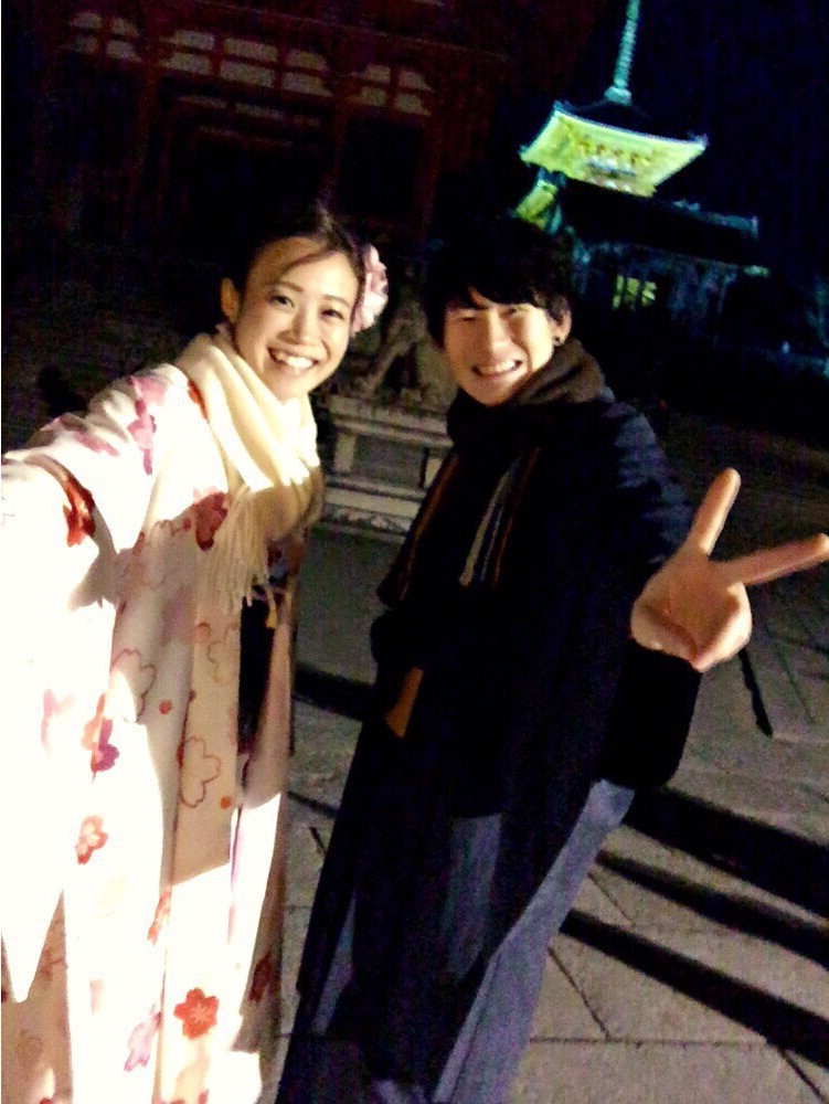 みんなで京都宇治 平等院鳳凰堂へ2016年12月24日19