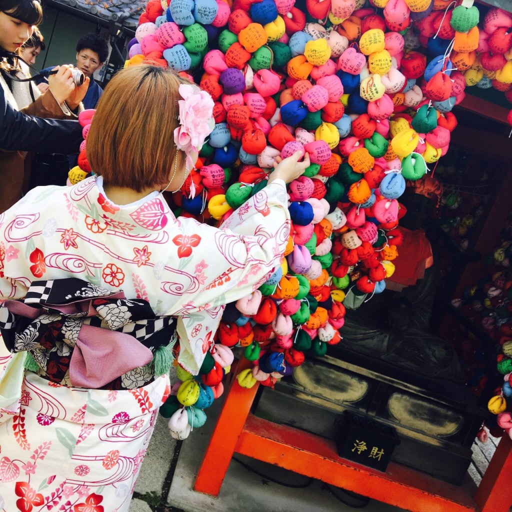 韓国から着物レンタル!京都で舞妓さんと❣2016年12月25日16