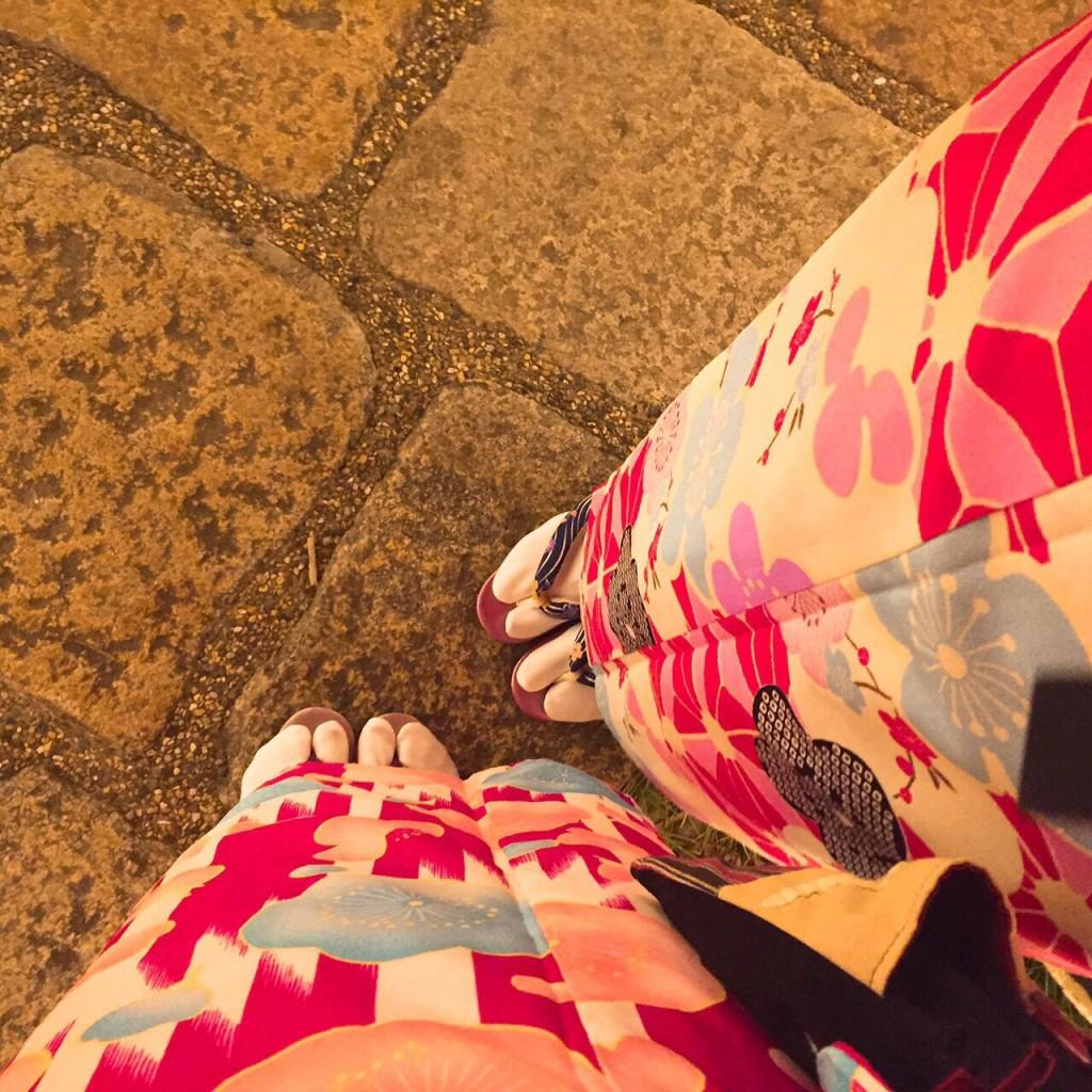韓国から着物レンタル!京都で舞妓さんと❣2016年12月25日30