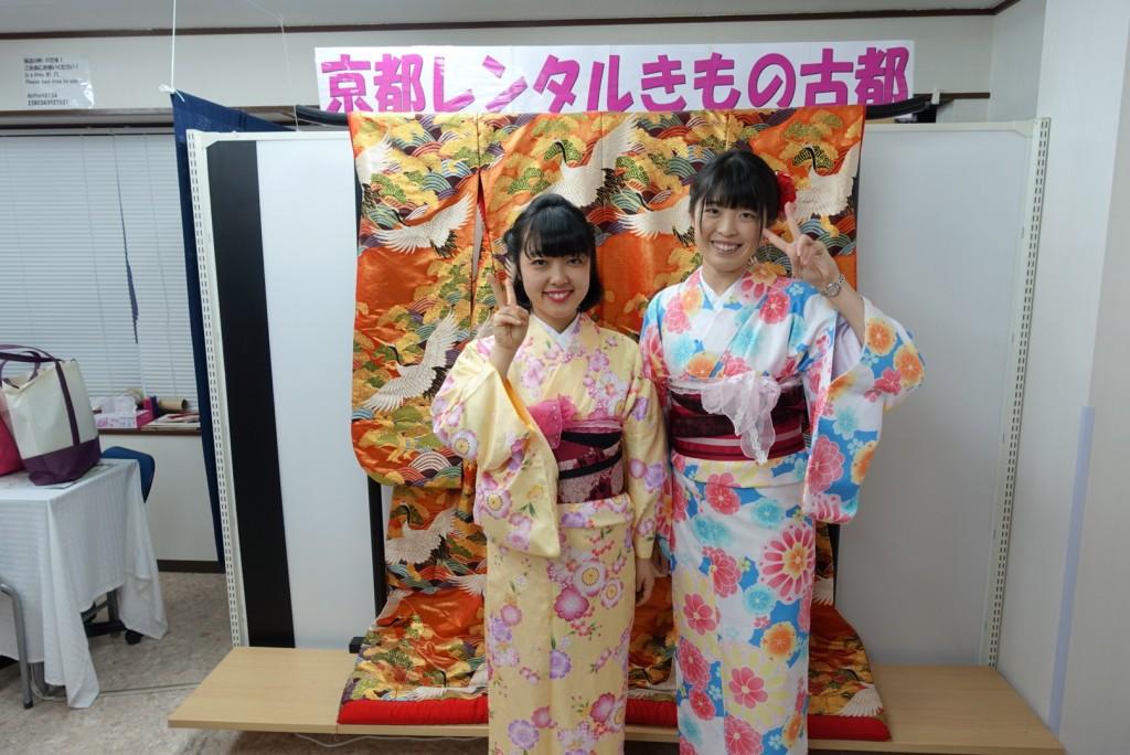 学生さん冬休み!愛知県から着物レンタル!2016年12月28日5