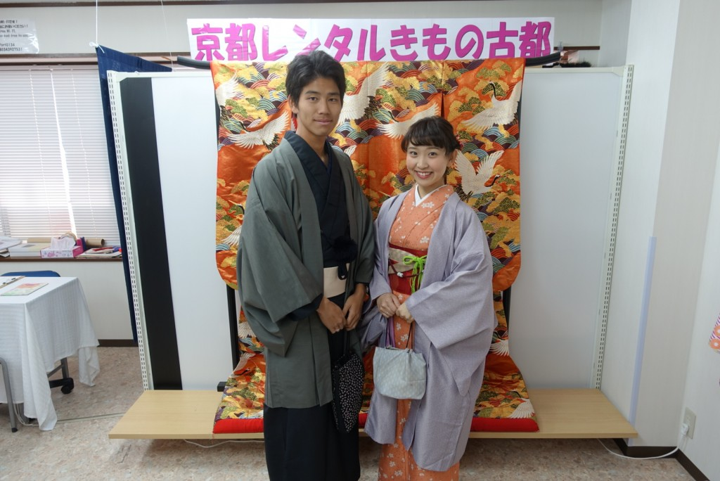 韓国から着物レンタル!京都で舞妓さんと❣2016年12月25日9