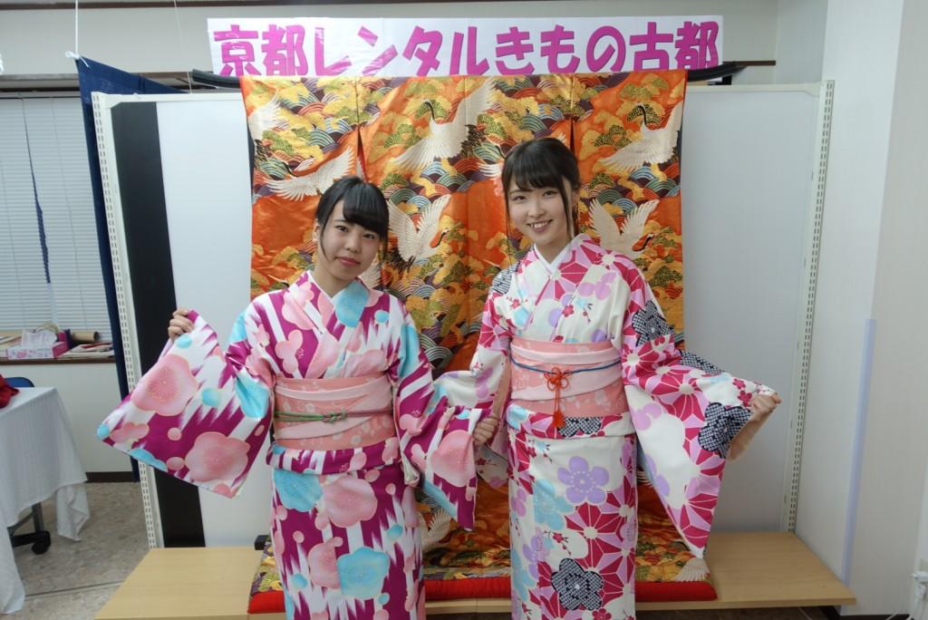 韓国から着物レンタル!京都で舞妓さんと❣2016年12月25日11