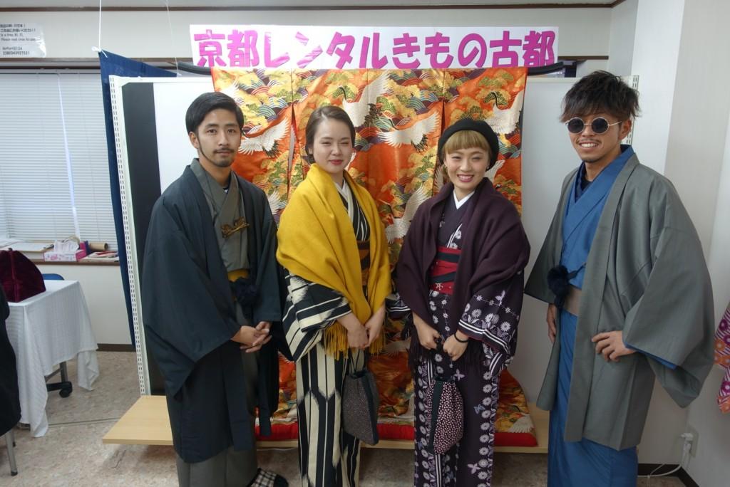韓国から着物レンタル!京都で舞妓さんと❣2016年12月25日10