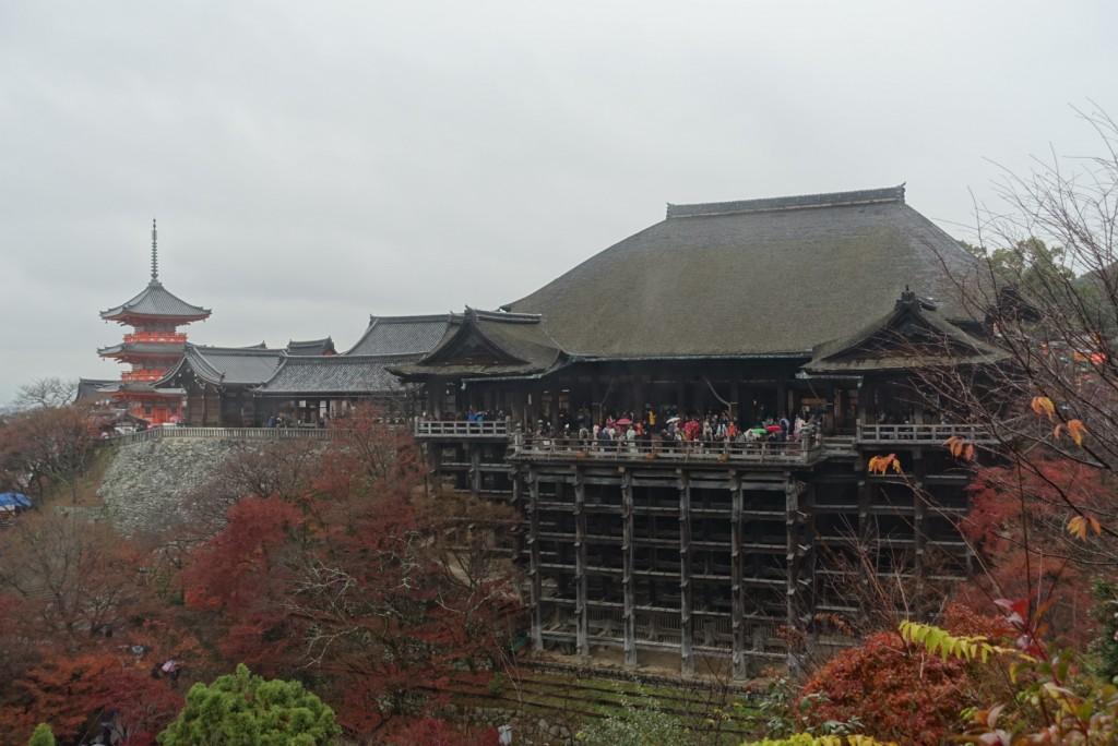 2016今年の漢字「金」清水寺3